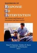 9780387517063: Handbook of Response to Intervention