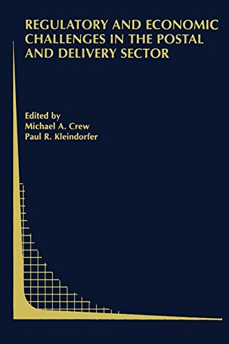 9780387522432: Regulatory and Economic Challenges in the Postal and Delivery Sector