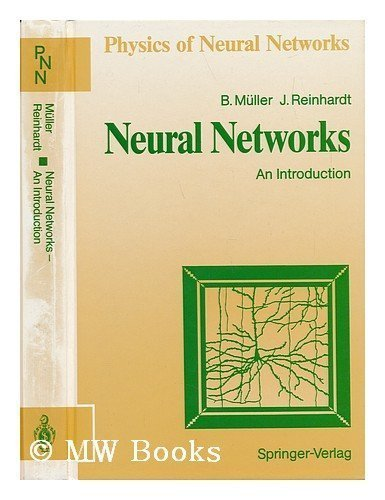 9780387523804: Neural Networks: An Introduction/With Diskette (Physics of Neural Networks)
