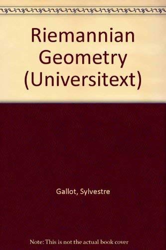 Riemannian Geometry: J. Lafontaine; D.