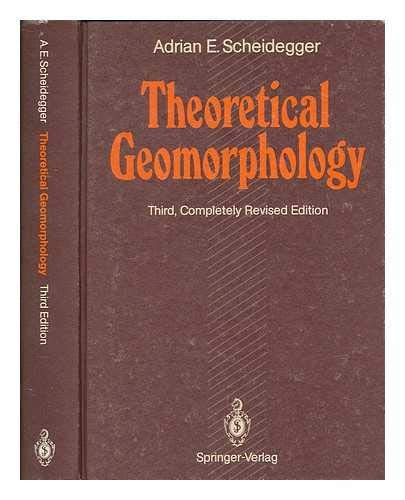9780387525105: Theoretical Geomorphology