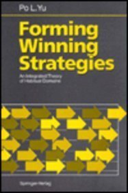 9780387526898: Forming Winning Strategies: An Integrated Theory of Habitual Domains
