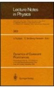 The Dynamics of Quiescent Prominences: Proceedings of: Iau Colloquium 1989