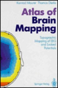 9780387530901: Atlas of Brain-Mapping: Topographic Mapping of Eeg and Evoked Potentials