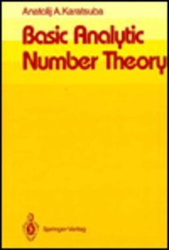9780387533452: Basic Analytic Number Theory - AbeBooks