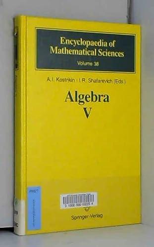 9780387533735: Algebra V: Homological Algebra (Encyclopaedia of Mathematical Sciences)