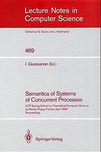 9780387534794: Semantics of Systems of Concurrent Processes Litp Spring School on Theoretical Computer Science, Laroche Posay, France, April 23-27, 1990)