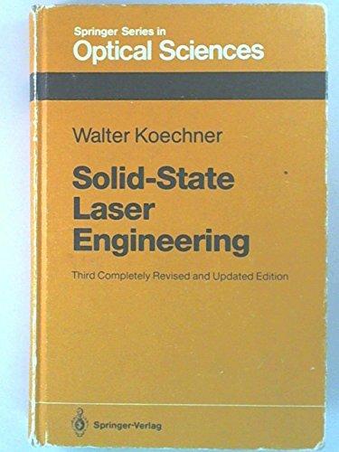 9780387537566: Solid-State Laser Engineering (Springer Series in Optical Sciences, Vol. 1)
