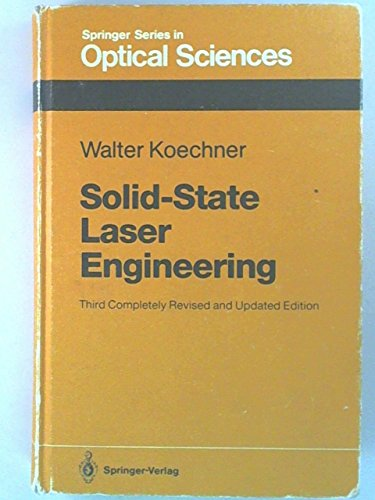 9780387537566: Solid-State Laser Engineering (Springer Series in Optical Sciences, Vol. 1)