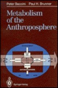 9780387537788: Metabolism of the Anthroposphere