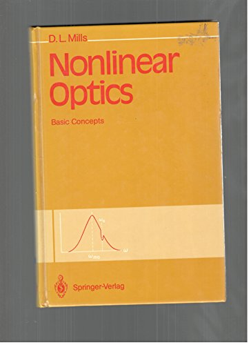 9780387541921: Nonlinear Optics: Basic Concepts