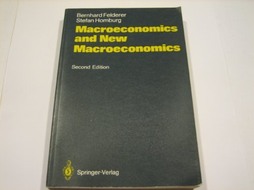 9780387553184: Macroeconomics and New Macroeconomics