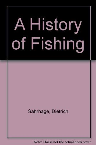 9780387553320: A History of Fishing