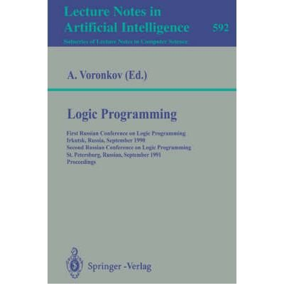9780387554600: Logic Programming (Lecture Notes in Artificial Intelligence)