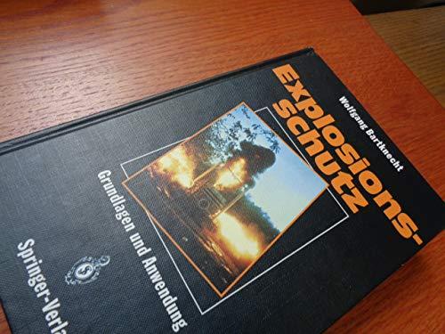 9780387554648: Explosionsschutz: Grundlagen Und Anwendung