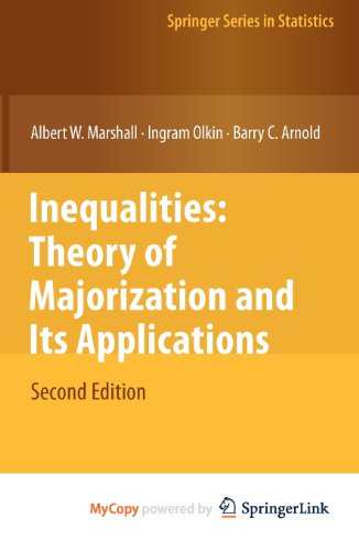9780387564135: Inequalities: Theory of Majorization and Its Applications (Lecture Notes in Computer Science)