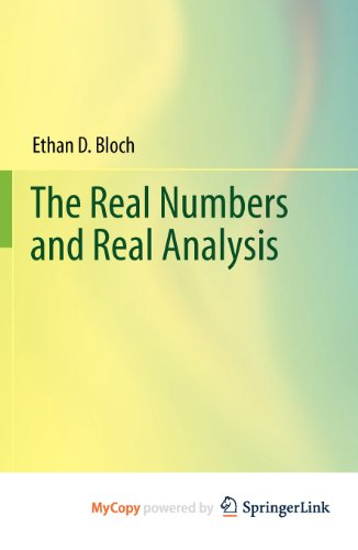 9780387565903: The Real Numbers and Real Analysis
