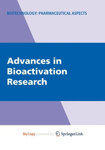 9780387568843: Advances in Bioactivation Research