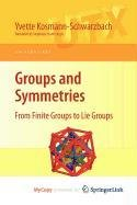 9780387570419: Groups and Symmetries