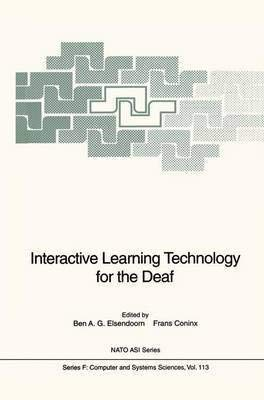 9780387571508: Interactive Learning Technology for the Deaf (Nato a S I Series Series III, Computer and Systems Sciences)