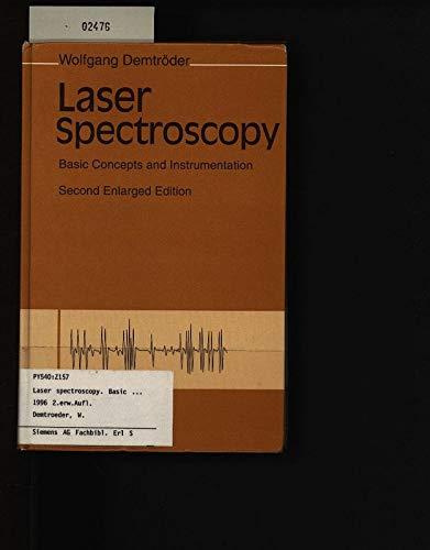 9780387571713: Laser Spectroscopy: Basic Concepts and Instrumentation