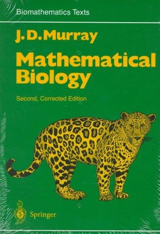 9780387572048: Mathematical Biology (Biomathematics, Vol 19)