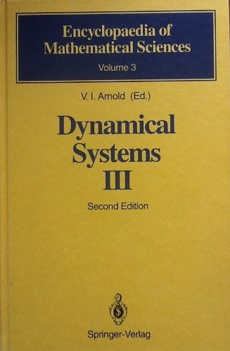 9780387572413: Dynamical Systems III (Encyclopaedia of Mathematical Sciences)