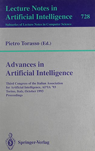 Advances in Artificial Intelligence: Third Congress of: Torasso, Pietro