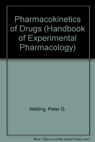 9780387575063: Pharmacokinetics of Drugs (Handbook of Experimental Pharmacology)