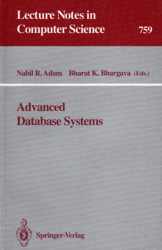 9780387575070: Advanced Database Systems (Lecture Notes in Computer Science)