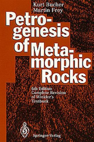 9780387575674: Petrogenesis of Metamorphic Rocks