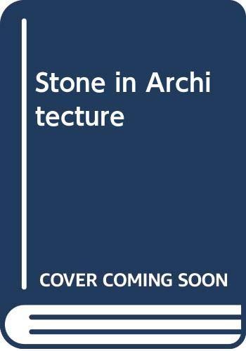 9780387576268: Stone in Architecture