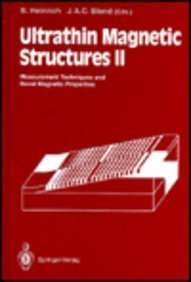 9780387576879: Ultrathin Magnetic Structures II