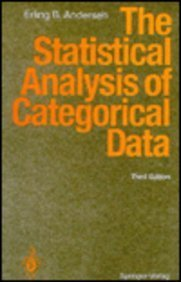 9780387576961: The Statistical Analysis of Categorical Data