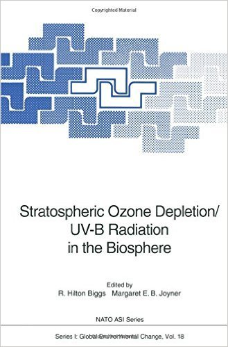 9780387578101: Stratospheric Ozone Depletion/Uv-B Radiation in the Biosphere (Nato a S I Series Series I, Global Environmental Change)
