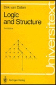 Logic and Structure: Dirk Van Dalen