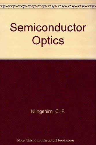 9780387583129: Semiconductor Optics