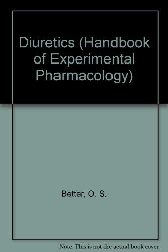 9780387589657: Diuretics (Handbook of Experimental Pharmacology)
