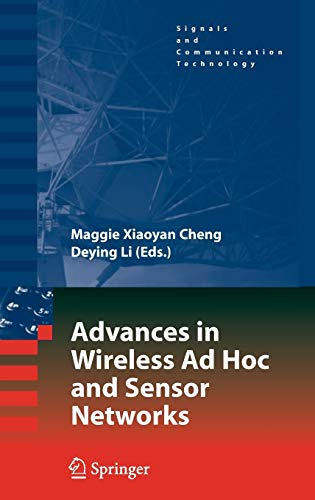 9780387685656: Advances in Wireless Ad Hoc and Sensor Networks (Signals and Communication Technology)