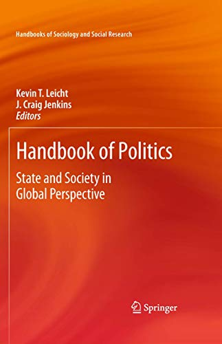 Handbook of Politics: State and Society in Global Perspective (Hardback)