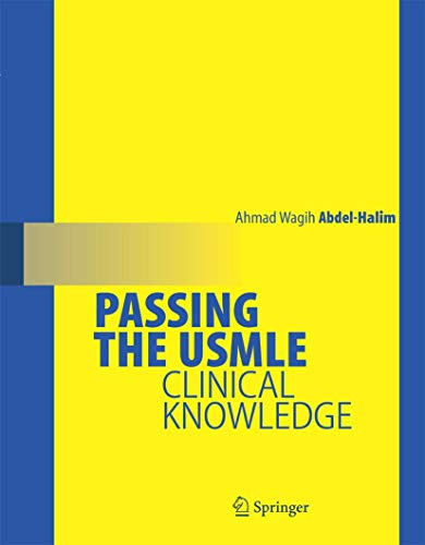 9780387689838: Passing the USMLE: Clinical Knowledge
