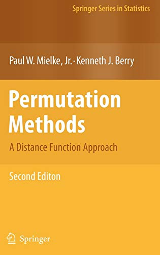 9780387698113: Permutation Methods: A Distance Function Approach (Springer Series in Statistics)