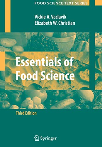 9780387699394: Essentials of Food Science (Food Science Text Series)