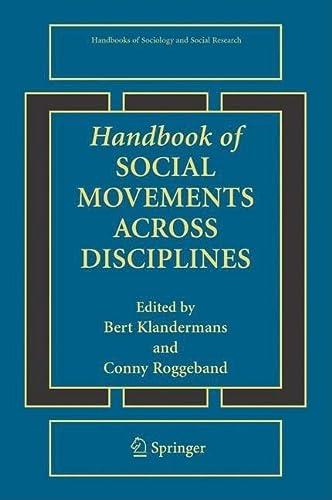 9780387709598: Handbook of Social Movements Across Disciplines (Handbooks of Sociology and Social Research)