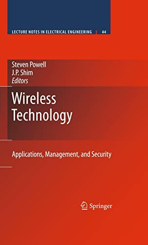 9780387717869: Wireless Technology: Applications, Management, and Security (Lecture Notes in Electrical Engineering)
