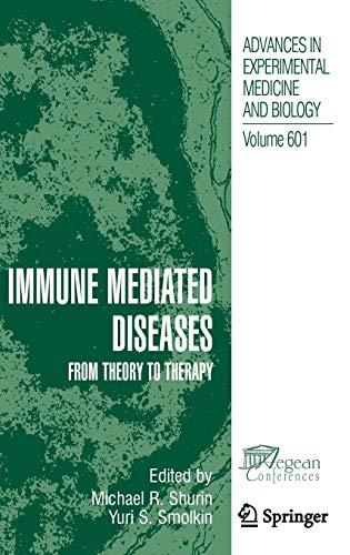Immune Mediated Diseases: Michael R. Shurin