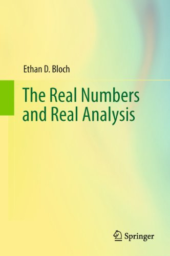 9780387721767: The Real Numbers and Real Analysis