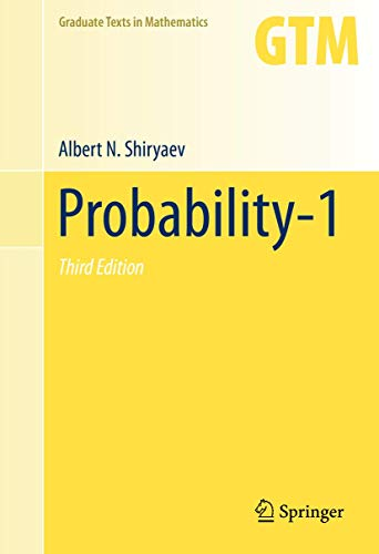 9780387722054: Probability-1 (Graduate Texts in Mathematics)