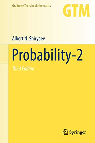 9780387722078: Probability: Volume 2: v. 2 (Graduate Texts in Mathematics)