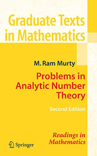 9780387723495: Problems in Analytic Number Theory (Graduate Texts in Mathematics)